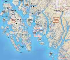 detailed map of Ketchikan